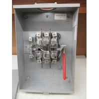 Milbank Meter Socket 757 Series  Type 3R enc, 125 amp 4wire 600 vac