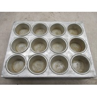 Lot of 5 12 cup heavy duty muffin pans