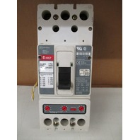 CUTLER-HAMMER CIRCUIT BREAKER CAT#HMCP2LWS10 250AMPS 3POLE 600VAC