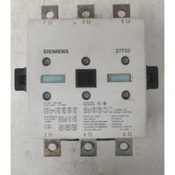 Siemens 3TF52 contactor 200A 600V