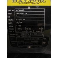 BALDOR VL3609T  AC MOTOR 3 Hp