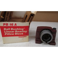 Thomson PB 16 A Ball Bushing Linear Bearing Pillow Block (Lot of 2)