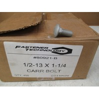 Fastener Technology 1/2-13 X 1-1/4 Grade 5 Corrosion Resistance Carriage Bolts *Box of 450*