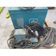 Air Products 250CP Constant Voltage Arc Welder with 2 amp Air Products AP250M Wire Feeder