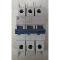 Allen Bradley 1489-M3D100 10A 3 Pole circuit breaker