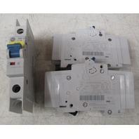 (2) Allen Bradley 1489-M1C160 16A;  (1)1489-M1C030 Circuit breakers  **Lot of 3**