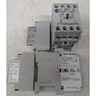 Allen Bradley 700-CF400E  Series A 690V Control Relay with 100-S Series B Contacts  **Lot of 2**