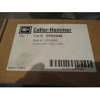 Cutler Hammer CP01048 SV9000 Input Rectifier Drive **NIB**