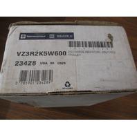 **NIB**  Telemecanique VZ3R2K5W600 Discharge Resistor