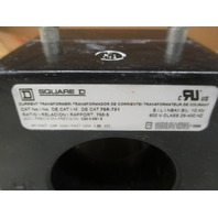 SQUARE D 76R-751 76R751 CURRENT TRANSFORMER 600V