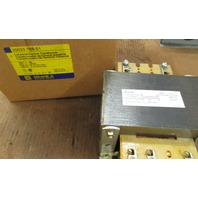 Square D 1 KVA Single Phase Transformer 30033-768-51