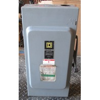 Square D Heavy Duty Safety Switch 200 Amp