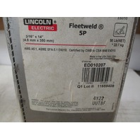 "Lincoln Electric Fleetweld 5P 3/16"" x 14"" Rods ED010207"