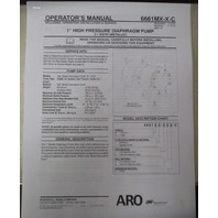 "Aro 1"" High Pressure Diaphragm Pump"