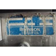 Branson Omni 2000 Triple Tank Degreaser