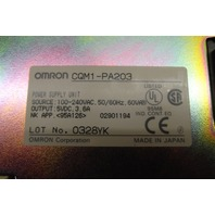 Omron CQM1-PA203 Power Supply