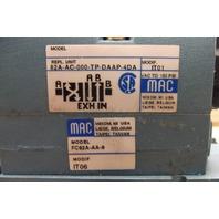MAC 82A-AC-000-TP-DAAP-4DA Pneumatic Valves - 5 Valve Assembly