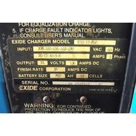 Exide System 3000 ES3-12-850 Forklift Battery Charger 24 VDC
