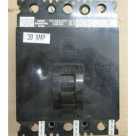 Square D FAL-34030 30amp 3 pole circuit breaker