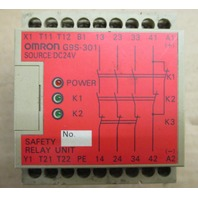 Omron Safety Relay G9S-301