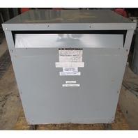 Sorgel Square D 112.5 KVA Transformer 112T3H 480-208Y/120 V
