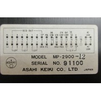 Asahi keiki  MP2900-12 Digital Meter
