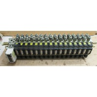 SMC 16 Valve Manifold IN313 with Solenoid Valves NVFS 4100-5FZ