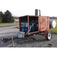 Kohler 40kw Diesel Trailer Mounted Generator 45R081 with Hercules 6 Cyl. Diesel Engine