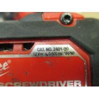 Milwaukee M12 Cordeless Drill 2401-20