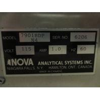 Nova Analytical System 7901BDPN4 Gas/Air Analyzer