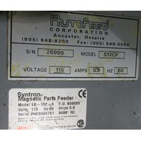 Syntron Magnetic Parts Feeder EB-132-A  with Hopper 59901