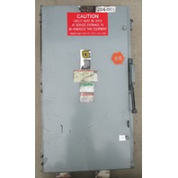 Square D H325  Heavy Duty Switch 400 Amp 240 Volt