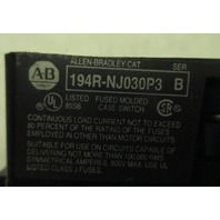 Allen Bradley Disconnect 194R-NJ030P3