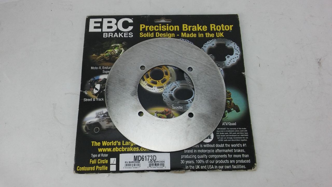 EBC Front or Rear Standard Brake Rotor - MD6173D