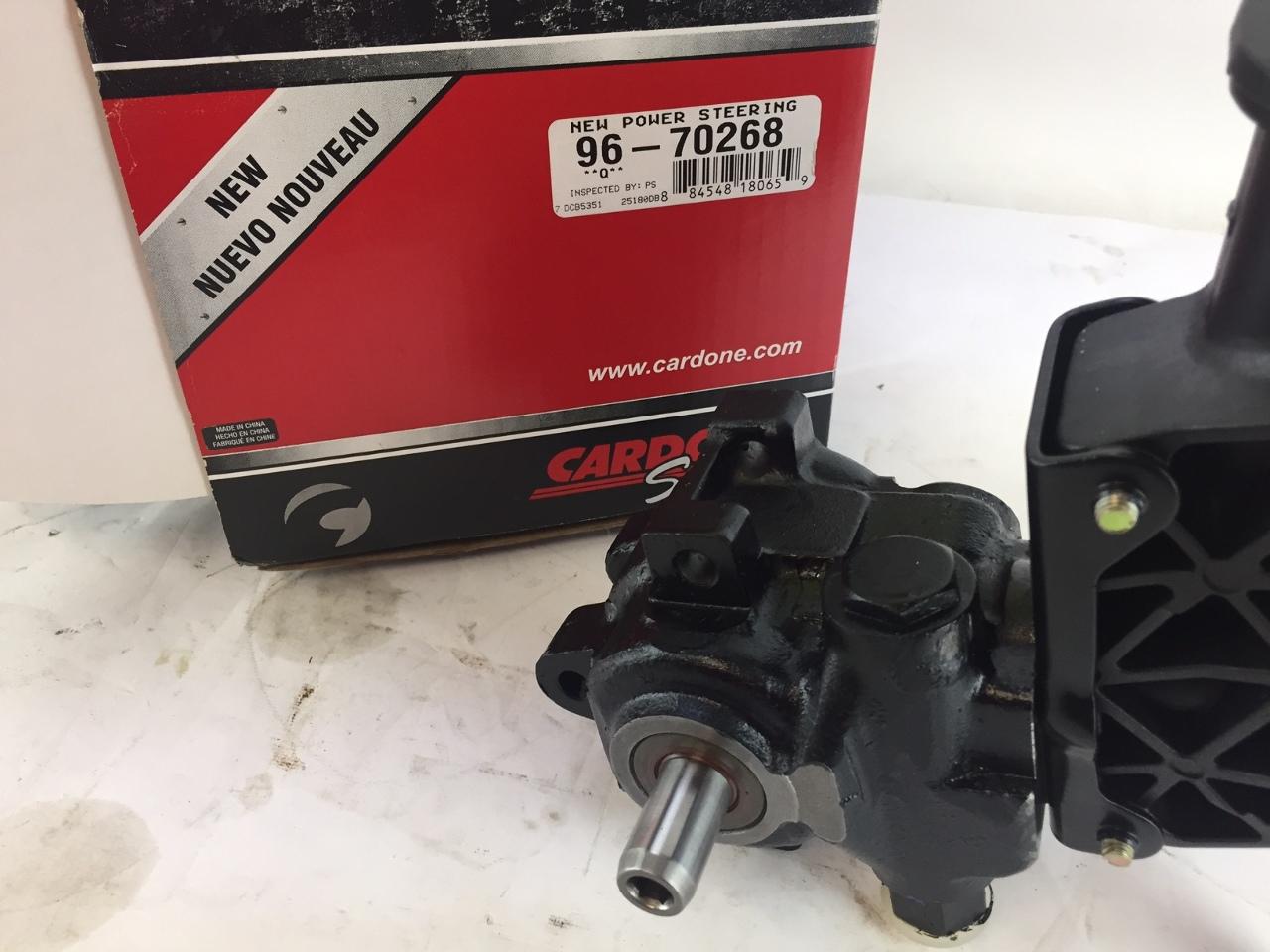 Cardone Select 96-70268 New Power Steering Pump
