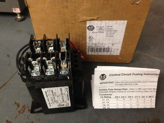 Allen Bradley 1497-C-BASX-3-N Control Circuit Transformer (s#28-2)
