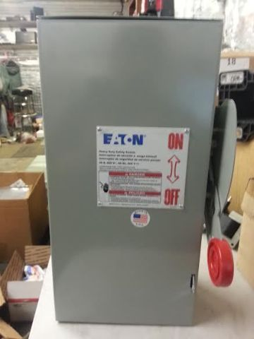Eaton Cutler-Hammer 30A, 600V Non-Fuseible Heavy Duty Safety Switch (s#29-4)