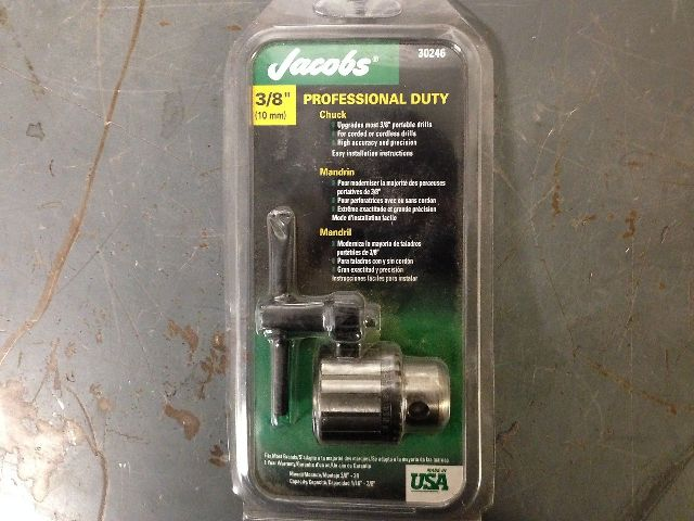 """Jacobs 30246 Professional Duty Chuck 3/8""""  (s#4-2A)"""
