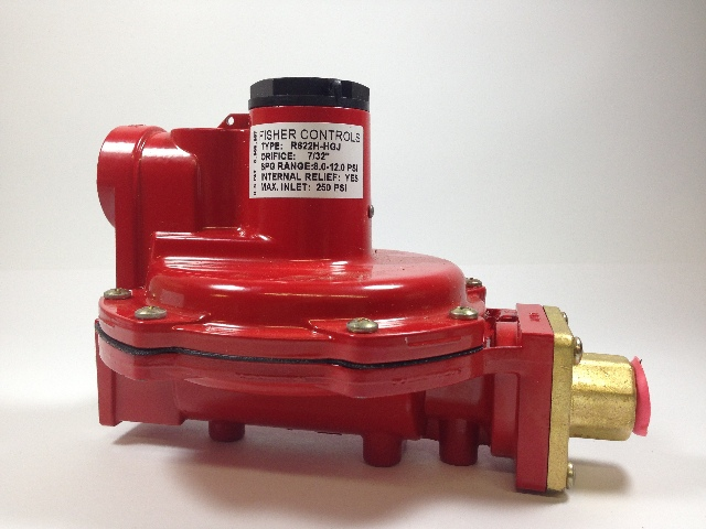 Fisher Controls R622H-HGJ First Stage LP Gas Regulator
