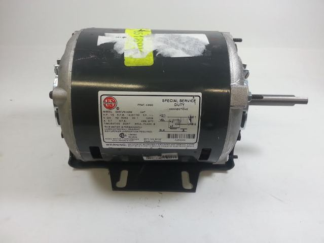 US Motors C55FJW-3069 Special Service Duty Motor 1/2 HP 1425/1725 RPM