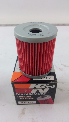 (x15) K&N KN-132 Suzuki/Hyosung High Performance Oil Filter LOT OF 15