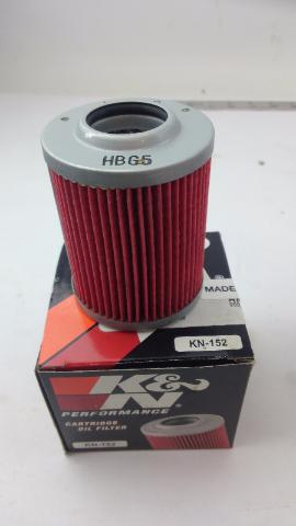 K&N KN-152 Honda Powersports High Performance Oil Filter