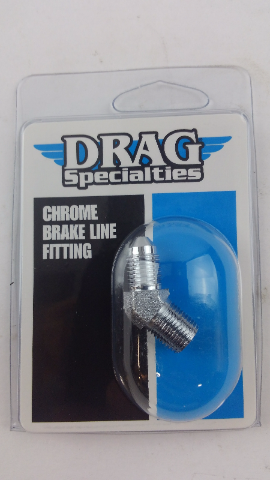DRAG SPECIALTIES #3 MALE X 1/8 PIPE 45DEG. DS098293