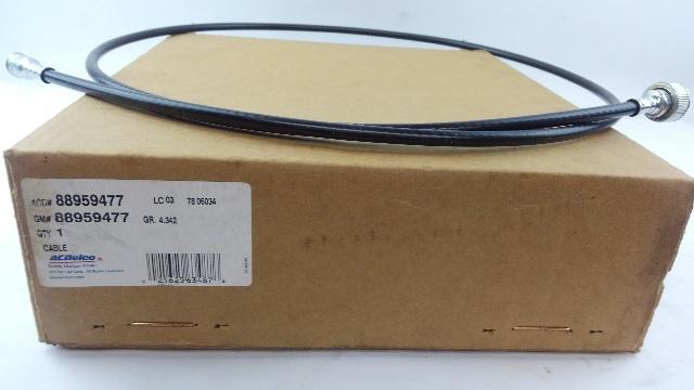 GMC Part # 88959477 - Genuine GMC - SPEEDOMETER CABLE
