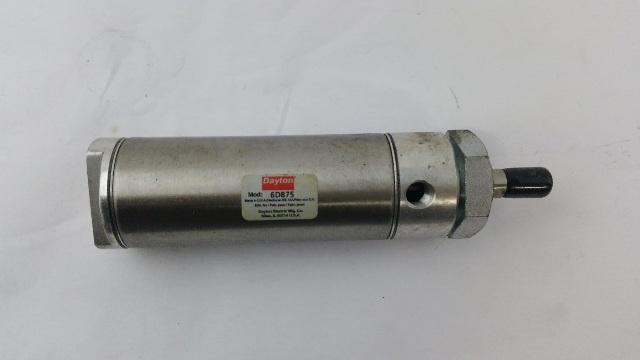 DAYTON 6D875 Nose Mounted Round Air Cylinder