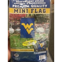 West Virginia Nylon Applique & Embroided Window or Lawn Flag (s#40-4)