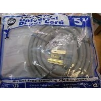 DRYER CORD 5' 3-WIRE/30 AMP UNIVERSAL DRYER CORD