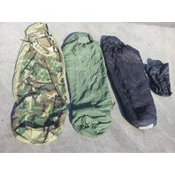 USMC COMPLETE MODULAR SLEEP SYSTEM GORE TEX 4 PIECE PREOWNED - (B)