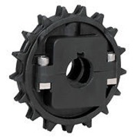 Rexnord NS8500-24T Thermoplastic Split Sprocket 614-186-5 (s#32-4)
