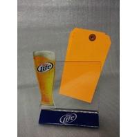 Miller Lite Decorative Paper Holders - set of 10 - NEW! (24-3)